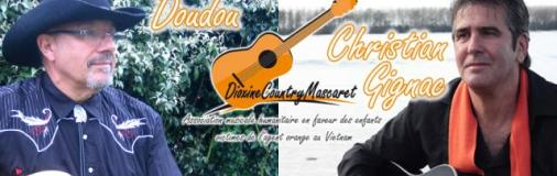 Une association musicale humanitaire - Dioxine Country Mascaret (D.C.M)