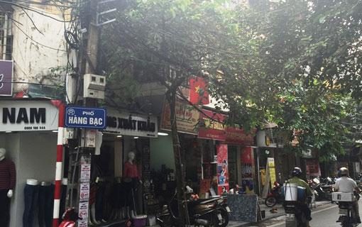 Hanoi: Hàng Bac, une rue de métier originale