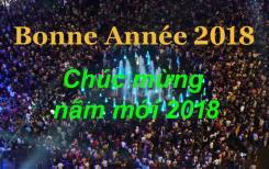 Bonne et heureuse année 2018 - Chúc mừng năm mới 2018