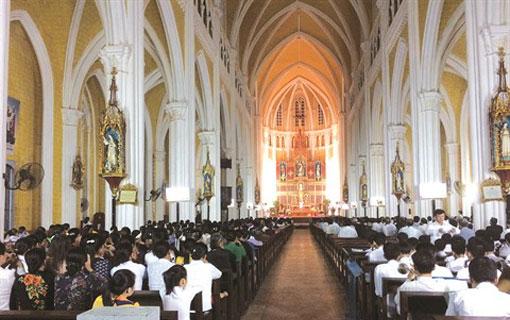 Le catholicisme est une religion qui fait partie intégrante de la culture vietnamienne