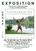 "PROLONGATION DE L'EXPO PHOTO ""VIETNAMESE WE"" A LA MAISON DU VIETNAM - PARIS"