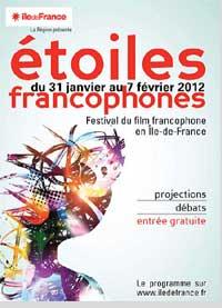 Festival étoiles francophone - du 1 au 7 février 2012