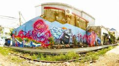 Le périple transvietnamien de deux graffeurs nomades