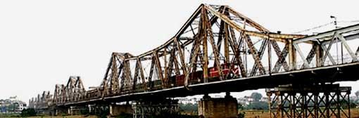 Hanoï : le pont Long Biên, aux multiples records