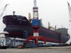 Vietnam - Mise à flot d'un navire de 56.200 tonnes