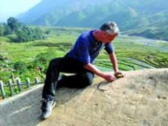 Un Français passionné par l'histoire du Vietnam