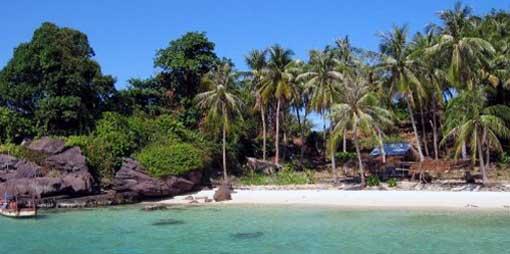La plage de Phu Quôc, paradis tropical du vietnam