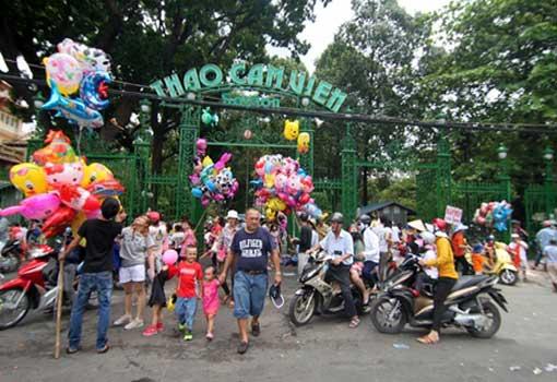 Le Jardin zoologique et botanique de Sài Gon