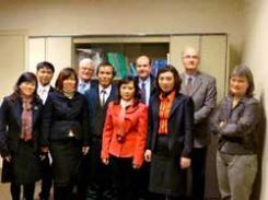Les notaires reçoivent une délégation du Ministère de la justice du Vietnam